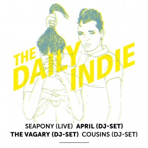 The Daily Indie Issue Launch @ DONDERGRONDSE (Paradiso, 23 mei)