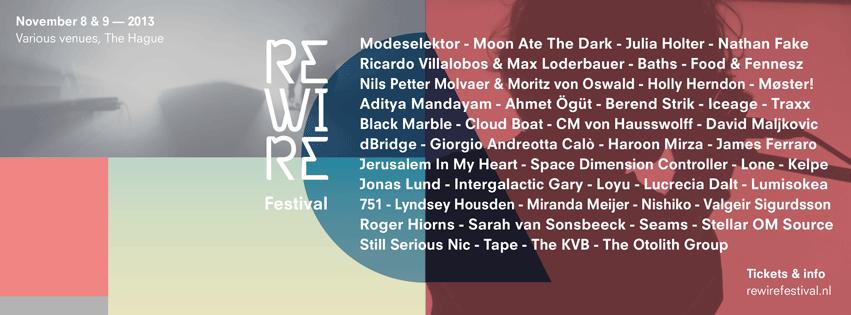 rewire festival den haag